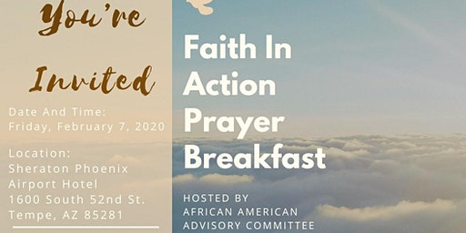 Faith in Action Prayer Breakfast