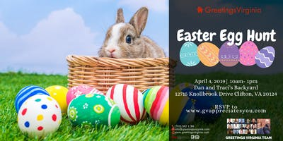 Greetings Virginia Easter Egg Hunt