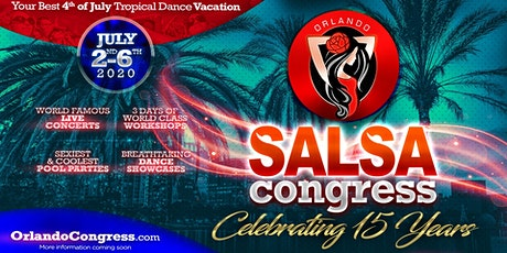 Orlando Salsa Congress 2020 with The MOB tickets