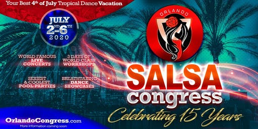 Orlando Salsa Congress 2020 with The MOB