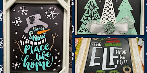 Let's Chalk all things Christmas