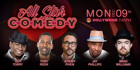 Jeremy Piven, Tony Rock, and more - Guy Torry and Friends tickets
