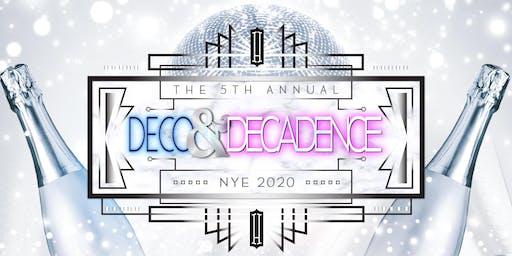 Hawthorn NYE 2020: Deco & Decadence