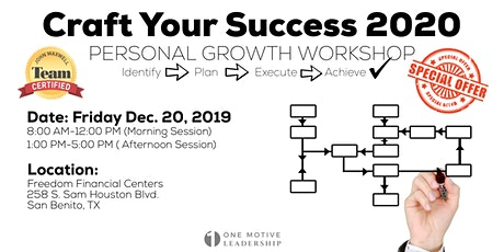 Craft Your Success 2020 tickets