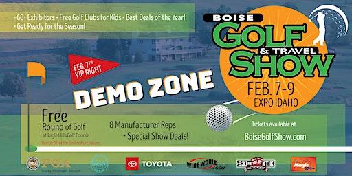 Boise Golf Show General Admission - SATURDAY & SUNDAY - FEB 8 & 9