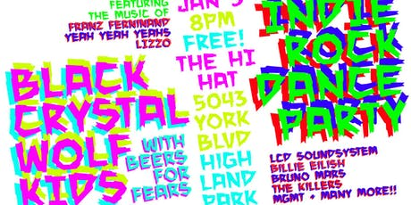 Black Crystal Wolf Kids New Decade Party with Beers for Fears tickets