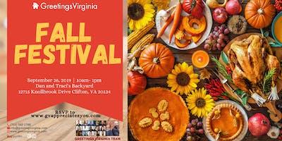 Greetings Virginia Fall Festival
