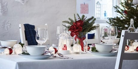 IKEA Tempe 'Christmas table styling' seminar tickets