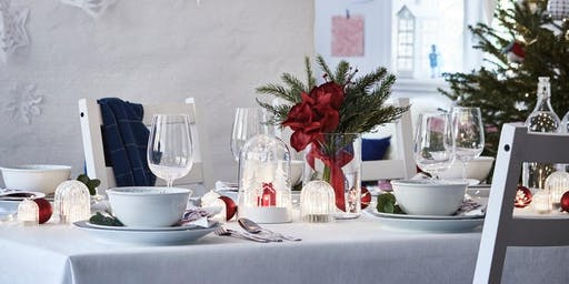 IKEA Tempe 'Christmas table styling' seminar