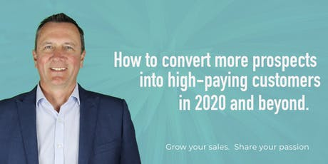 Sales Accelerator.  Grow your sales in 2020 and beyond tickets