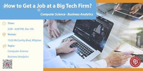 Business Analytics & Computer Science Workshop tickets