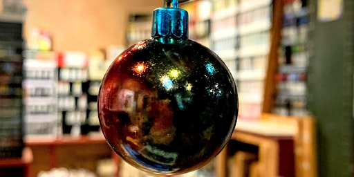Alcohol Ink Ornaments - The ARTery Holiday Craft Series