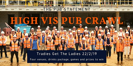 Tradies in the Valley Pub Crawl tickets
