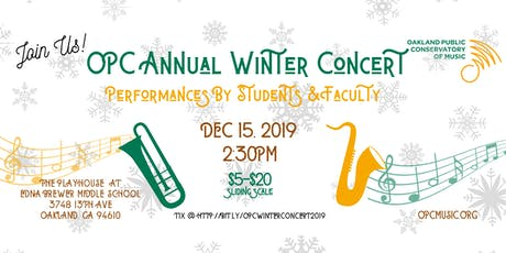 Oakland Public Conservatory of Music Annual Winter Concert tickets