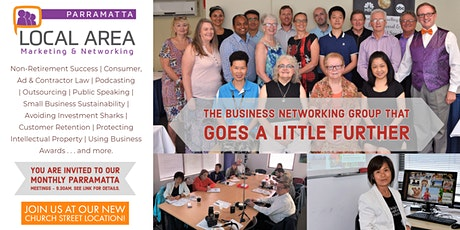 Local Area Marketing  and Networking - Parramatta tickets