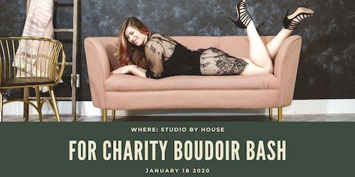 For Charity Boudoir Bash