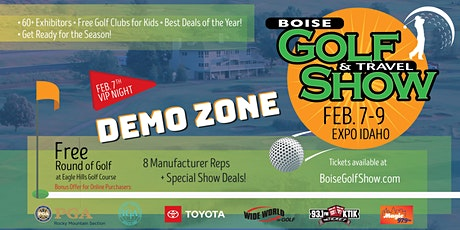 Boise Golf Show VIP Night - FRIDAY - FEB 7 tickets