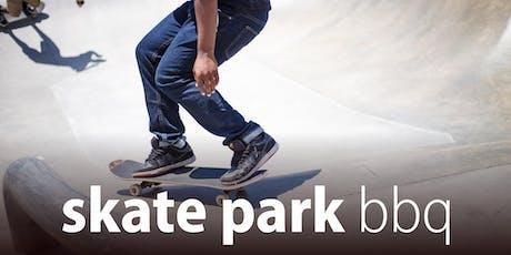 Skate Park BBQ - Summer school holidays tickets