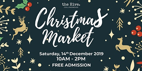 The Hive Collingwood Christmas Market tickets