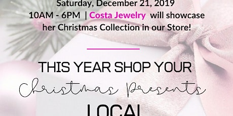 Shop Local This Christmas at Kindness Collection | Guest: Costa Jewelry tickets