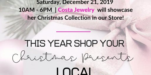 Shop Local This Christmas at Kindness Collection | Guest: Costa Jewelry