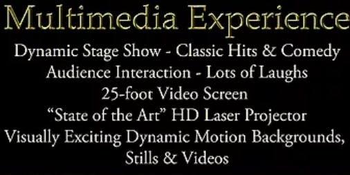 The Popovich Multi-Media Experience Classic Hits & Comedy