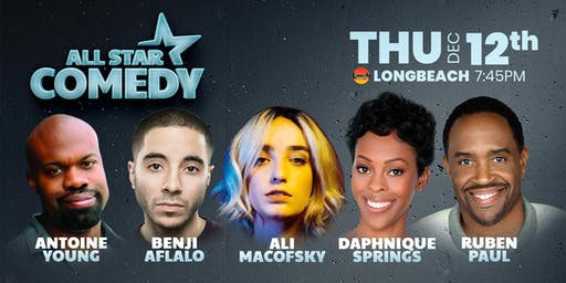 Daphnique Springs, Ruben Paul, and more - All-Star Comedy