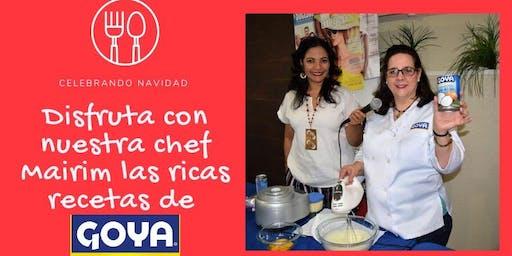 Cocina de fin de año en Goya