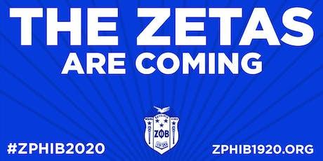 Zeta Phi Beta Sorority, Inc. - Membership Informational tickets