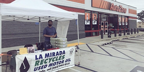 City of La Mirada FREE Used Oil Filter Exchange Event @ AutoZone tickets