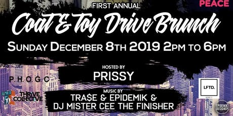 TOY/COAT DRIVE BRUNCH tickets