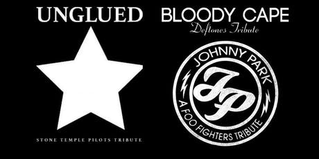 Unglued, Bloody Cape, Johnny Park tickets