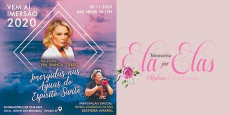 Imersão 2020 com Bianca Toledo,   Imergidas nas Águas do Espirito Santo ingressos