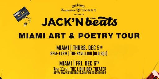 Jack N' Beats Miami Art Tour