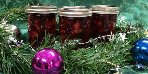 Canning Workshop - Cranberry Conserve