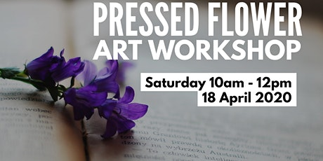 Pressed Flower Art workshop tickets