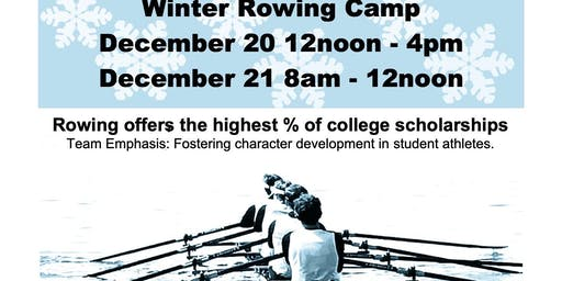 Rowing! Learn How to Row Winter Camp for youth