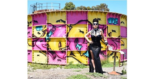Upcycled fashion and street art