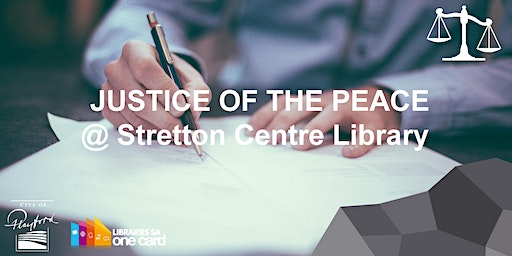 JP @ Stretton Centre Library, Saturday 10AM  - 12PM