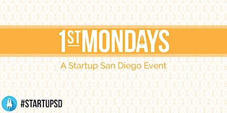 Startup San Diego 1st Mondays - January 2020 tickets