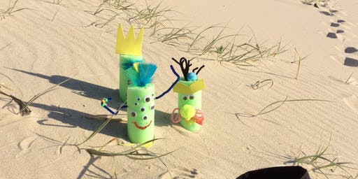 Rockdale Library - School Holiday Activity - Pool Noodle Monsters