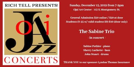 The Sabine Trio tickets