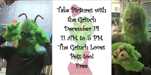 Take Pictures with the Grinch