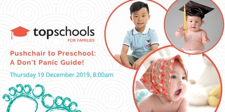 Pushchair to Preschool: A Don't Panic Guide (19 December 2019) tickets