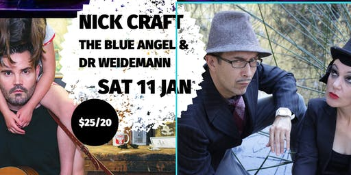 NICK CRAFT & THE BLUE ANGEL & DR  WEIDEMANN- Navigate Summer