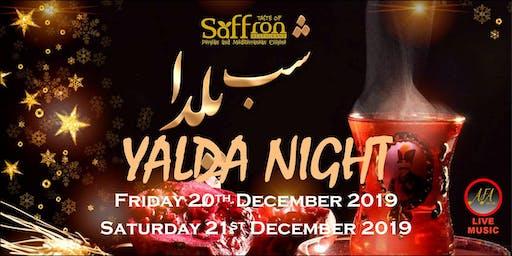 YALDA NIGHT AT TASTE OF SAFFRON RESTAURANT