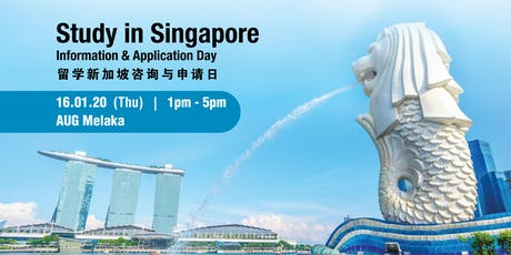 Study In Singapore Information & Application Day tickets