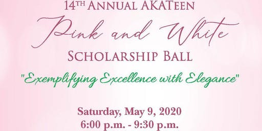 AKATeen Pink and White Scholarship Ball