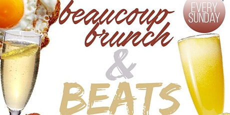 Beaucoup Brunch & Beats tickets