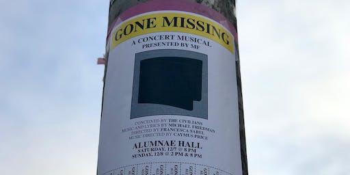 Gone Missing - In Concert